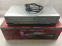 Durabrand VHS + DVD Combi Player, VCR & DVD combo AD980BD, TESTED, BOXED