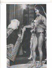 Christine Zane wins Miss Universe Bikini 1970 Bodybuilding Contest Photo B+W
