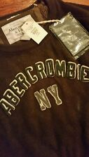 Abercrombie & Fitch classic heavy thermal XL muscle fit warm winter waffle style