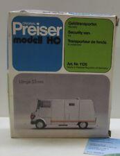Preiser 1126:  MB 310  Geldtransporter,   Bausatz 1:87