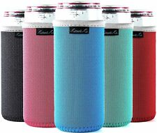 Slim Can Cooler Sleeves (5-Pack) Insulated Neoprene Slim Can Koolie for W. New