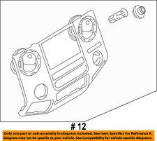 FORD OEM 11-16 F-250 Super Duty Instrument Panel Dash-Center Panel BC3Z2504302AB