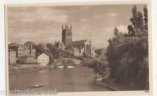 Worcester Cathedral from The Severn Postcard #2, B484