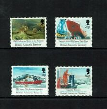 British Antarctic Territory: 1991,Maiden Voyage, Research Ship, MNH set