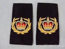 Genuine Royal Navy Warrant Officer WO Rank Slides / Epaulettes