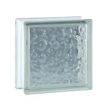 6 piéce BM Brique de Verre Briques de Verre Savona Super white 19x19x8cm