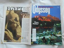 ARCHAEOLOGY ODYSSEY Magazine-SPRING,1998-AN ODYSSEY DEBATE:THE ELGIN MARBLES