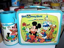 Walt Disney World-50Th`1976`Walt Disney Productions`Lunchbox & Thermos-Free 2 US