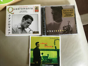 Chet Baker Time After Time, Chet Is Back, This Is Jazz Cd