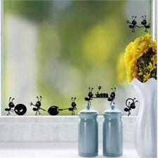 Autocollants en verre de dessin animé Stickers Home décoration