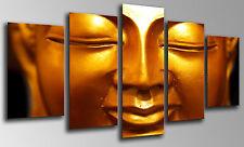 Cuadro Moderno Fotografico Buda Buddha base madera, 145 x 62 cm