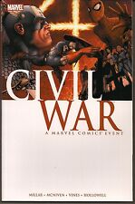 CIVIL WAR MARVEL 2007 SC GN TPB COLLECT #1-7 MILLAR McNIVEN STORY MOVIE SOON NEW