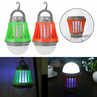 De plein air Chargement USB Anti moustique Lampe lumineuseInsecte solaire killer