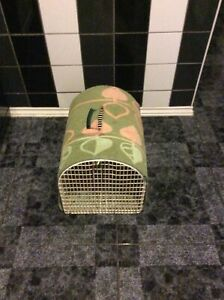 Pet Cage Metal Dog Puppy Cat Small Medium Carrier Crate Training Transport