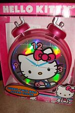 Hello Kitty Jumbo Twin Bell Alarm Clock New In Box
