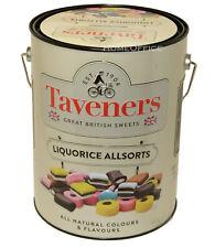 400g  Liquorice Allsorts Taveners All Sorts Also Saving Tin