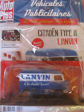AUTOPLUS Citroen Type H Lanvin le bon chocolat francais 1:43 Vehicles