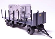 H0 BREKINA 3 - achsiger Anhänger Rungen DB Container geschlossen # 55304
