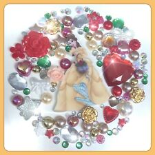 Disney Beauty and the Beast Theme Cabochon pearl flatbacks for decoden crafts #2