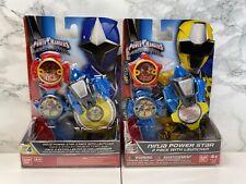 Power Rangers Ninja Steel Power Star 3 Pack Series 4 + 5 Bundle Brand New Toy TV