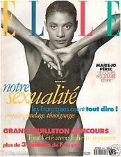 ▬►Elle 2636 (1996) Marie-Jo Pérec_Lady Diana_YSL_Mode Fashion