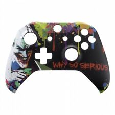 """Xbox One S Custom Controller Front Shell Faceplate Replacement """"Joker WSS"""""""