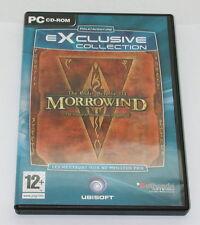 Morrowind The Elder Scrolls III 3 In French PC CD-ROM