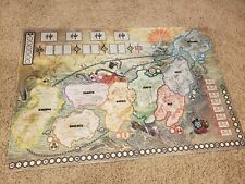 Rising Sun Playmat Board Kickstarter Exclusive Play Mat In-hand used