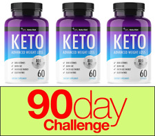 Keto Diet Pills - Advanced Weight Loss - Three Months Supply