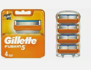 GILLETTE FUSION5 Razor Blades Replacement 4 Pack (No Box) FAST N FREE POSTAGE