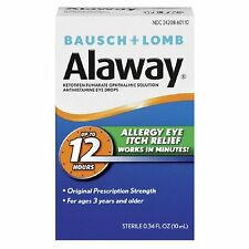 Bausch + Lomb Alaway Eye Itch Relief 0.34 fl oz