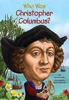 Who Was Christopher Columbus? by Bader, Bonnie, NEW Book, FREE & FAST Delivery,