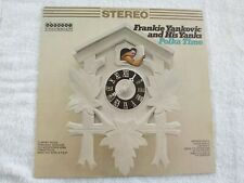 Frankie Yankovic and His Yanks POLKA TIME NM LP vinyl record novelty Weird Al