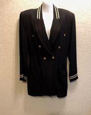Women Cosplay Airline Flight Attendant Stewardess Jacket Uniform  Costume