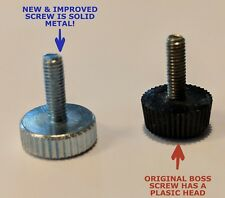 Improved Boss Guitar Pedal Thumb Screw for Battery Compartment Replacement Part