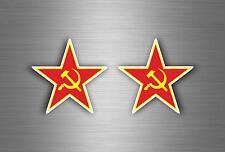 Aufkleber sticker russia sowjetunion flagge fahne udssr russland urss stern cccp