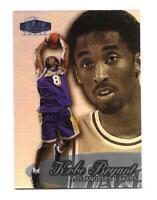 1998-99 Flair Showcase Row 3 Kobe Bryant Los Angeles Lakers Card #2