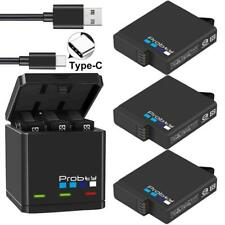 GoPro Hero 7 6 5 Black Triple Battery Charger Camera HD Portable FREE SHIPING