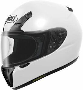 Shoei RYD Gloss White Motorcycle Crash Touring Helmet XS Extra small
