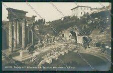 Firenze Fiesole Teatro Romano Alfieri Foto cartolina QQ2296