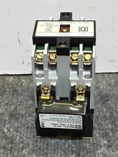 Used SQUARE D CONTROL RELAY 480v  8501X040