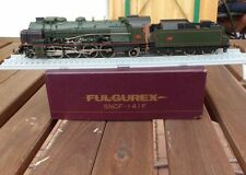 Fulgurex 2030 steam locomotive 141.f 282 SNCF with RP 25 Wheels Boxed, Used
