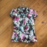 Women's Rampage Short Sleeve Blouse Size Med