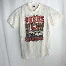 San Francisco 49ers Vintage Starter 1990 Super Bowl Champions T-Shirt