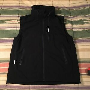 Descente Zip Winbreaker Vest Jacket Cycling Mens XXL