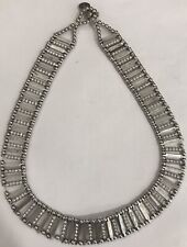 Philippe Audibert Paris Necklace Silver Tone & Swarovski Crystals