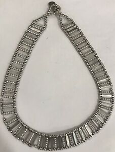 Philippe AudibertParis Necklace Silver Tone & Swarovski Crystals