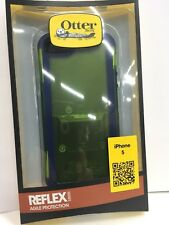 Otterbox Reflex Case For Iphone 5 5S SE Lime Green Radiate - NEW - OEM 2Pcs