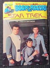 1979 Re Star Trek Crier In Emptiness Book & Record Vg+/Ex Peter Pan Pr 26