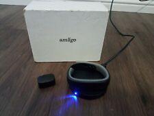 Amiigo Fitness Activity Tracker Graphite Aluminum & Black, Wireless Charger